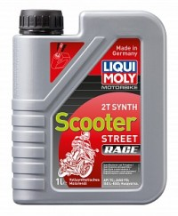 Liqui Moly Motorbike 2T Synth Scooter Street Race 1л (Синтетическое)