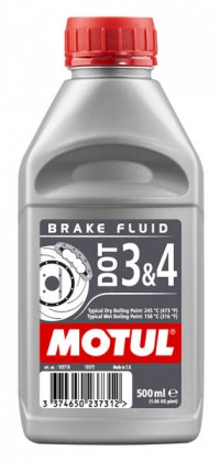 MOTUL DOT 3 & 4 Brake Fluid DOT 3&4 0,5л