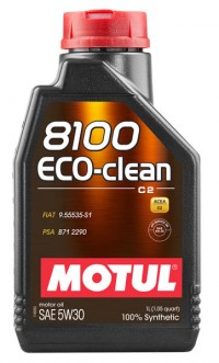 MOTUL 8100 ECO-clean 5W30 1л