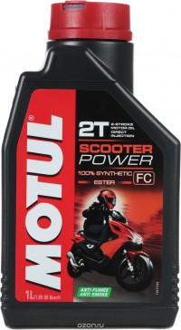 MOTUL SCOOTER POWER 2T 2T 1л